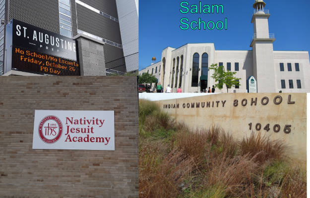 St.Augustine, Salam School, Nativity Jesuit, Indian Community